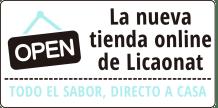 Nueva tienda online de Licaonat