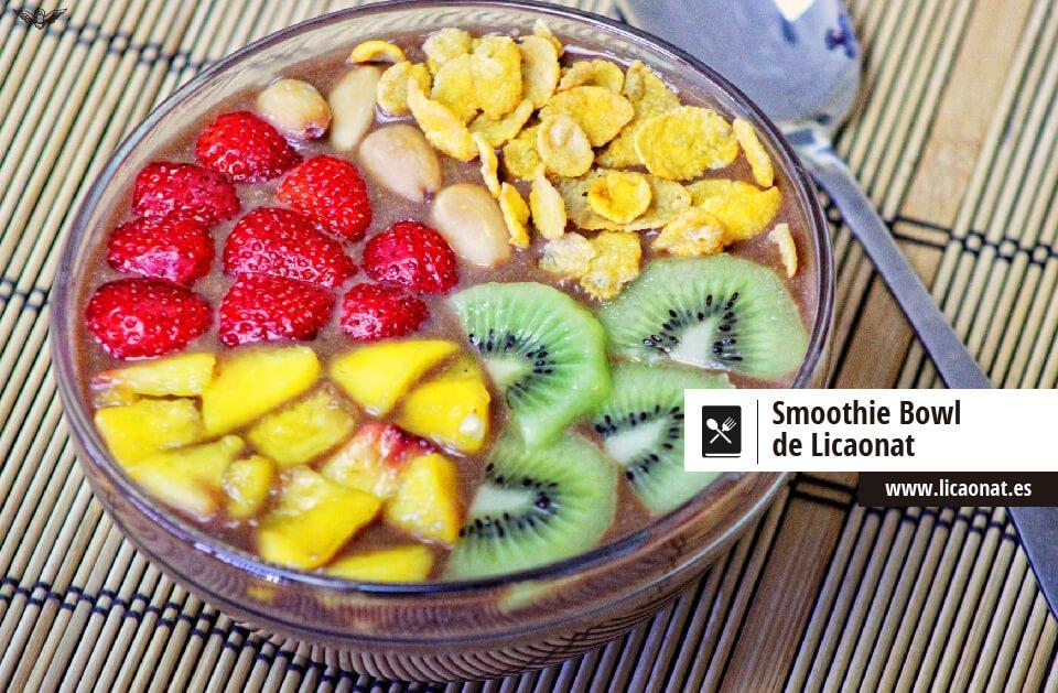 Smoothie bowl recetas